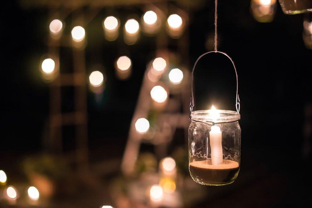 Garten skandinavisch einrichten - Beleuchtung
