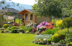 Gartenhaus einrichten
