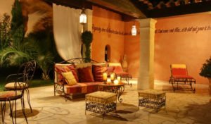 Terrasse orientalisch einrichten