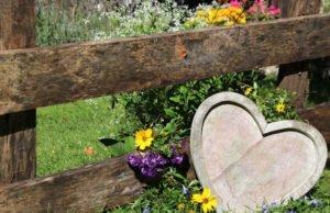 Gartendeko rustikal Ideen