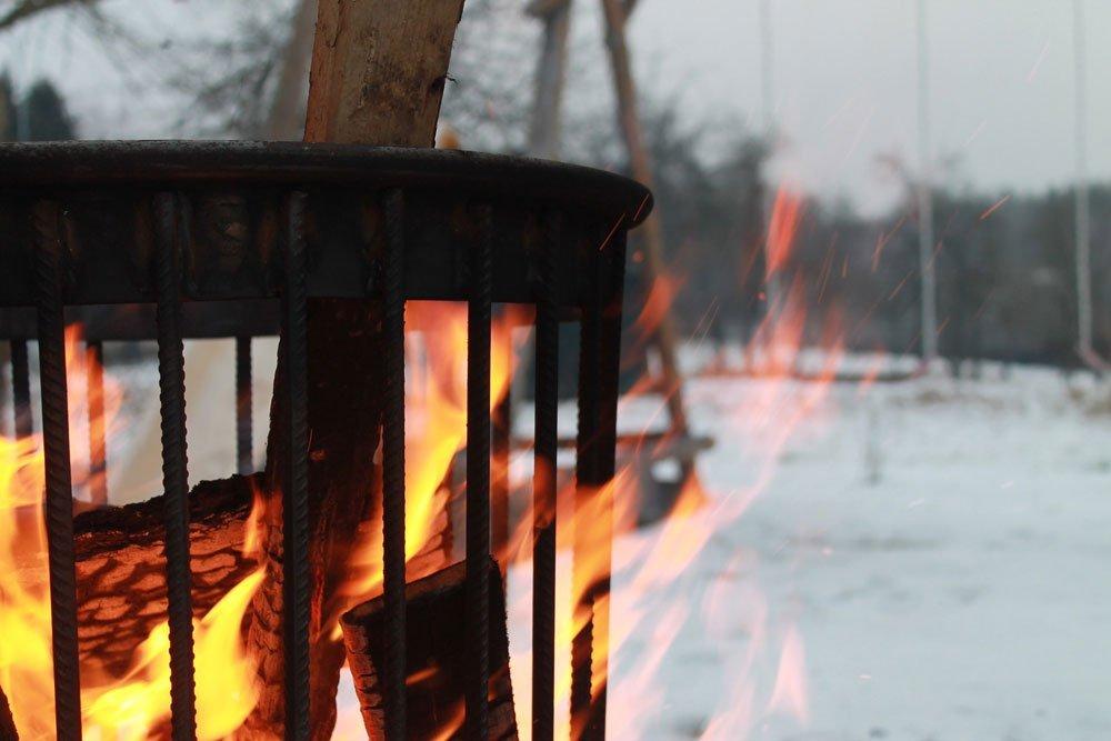 Feuerkorb Metall