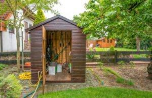 Gartengeräte Aufbewahrung Ideen