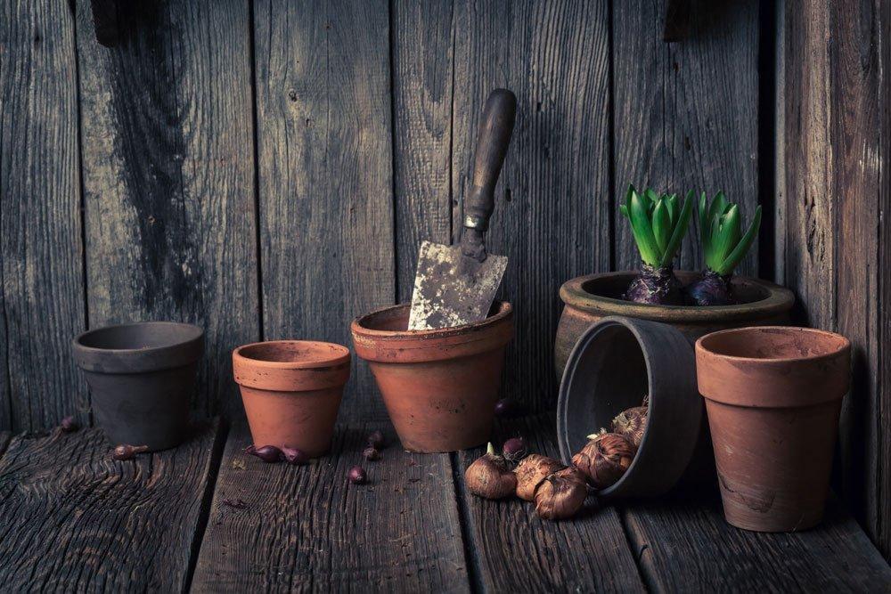 Gartengeräte sicher aufbewahren