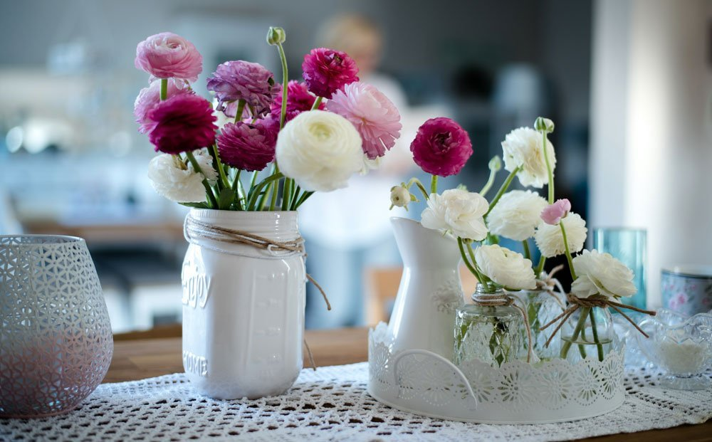 Hochzeit Garten Deko