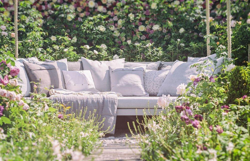 Sitzlounge Garten