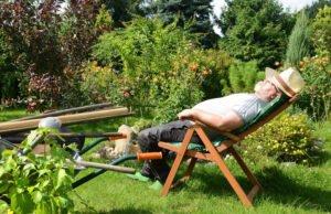 Gartenmöbel für Senioren