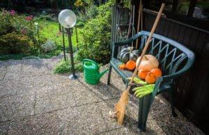 Großputz im Garten