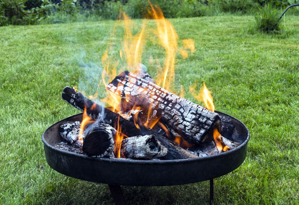 Feuerschale Garten