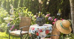 Garten gestalten mit Metall