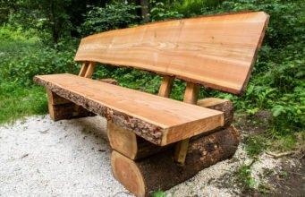 Massive Holzbank selber bauen - Material, Anleitung & Tipps