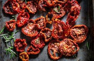 Tomaten trocknen Dörrautomat