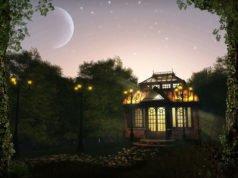Gartenhaus Beleuchtung