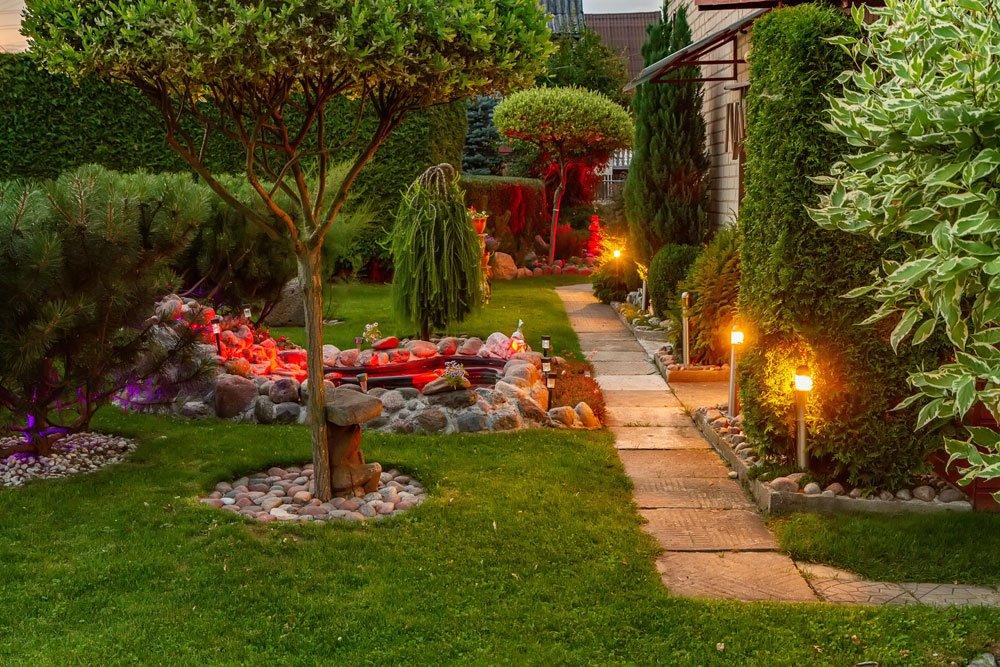 Gartenweg Beleuchtung