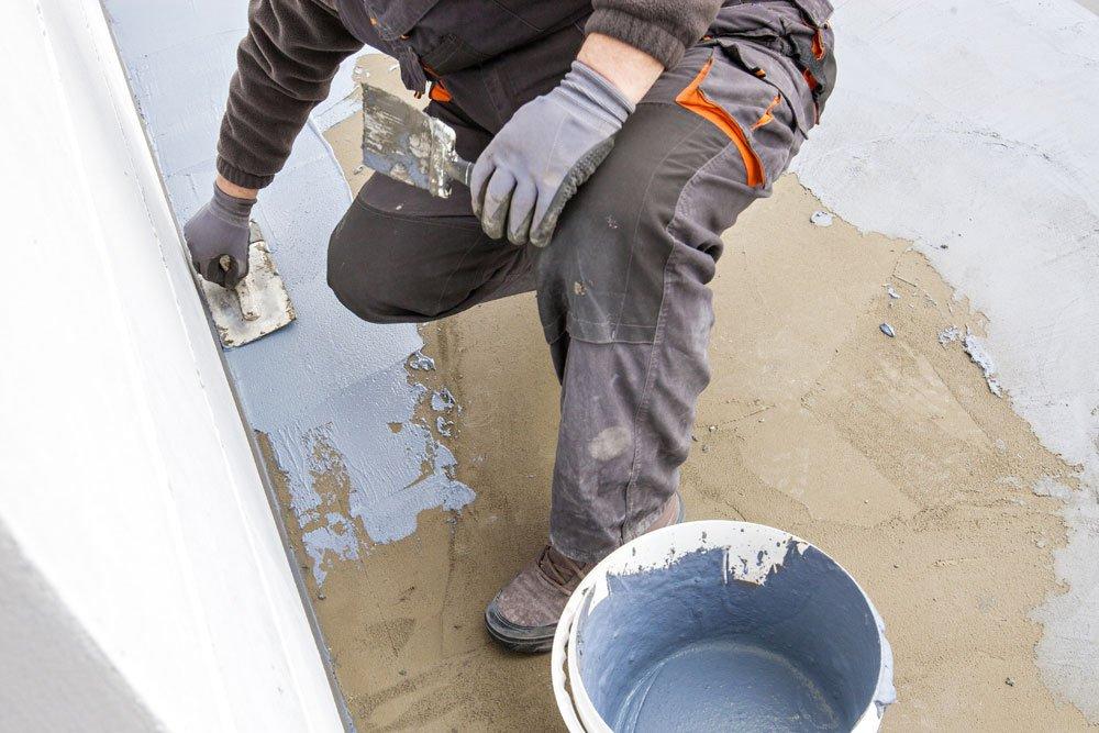 Dachterrasse - Abdichtung