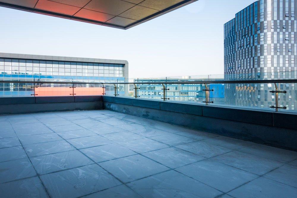 Dachterrasse - Absturzsicherung