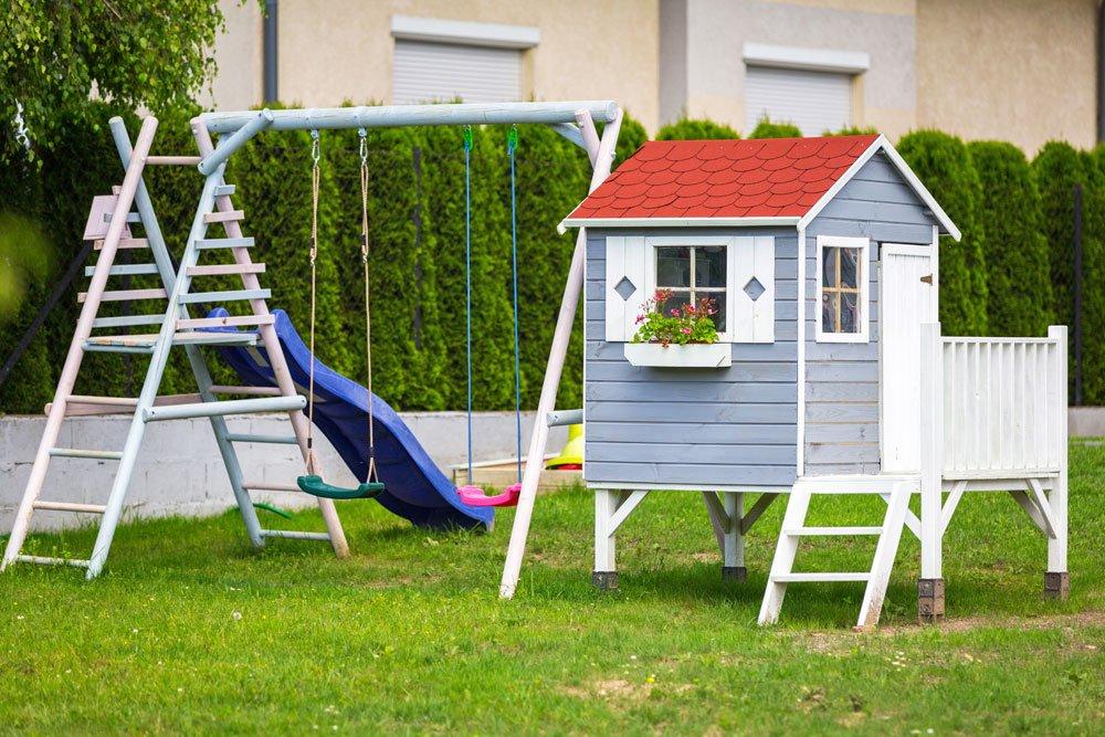 Sicherheit Spielplatz Garten