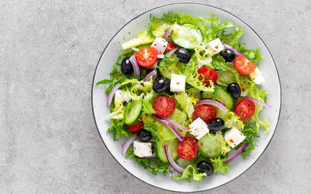 Tomatensalat - griechisch