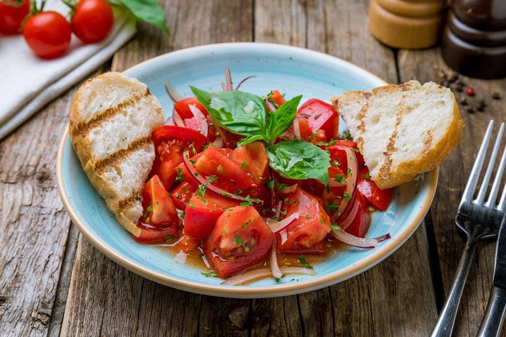 Tomatensalat - klassisch