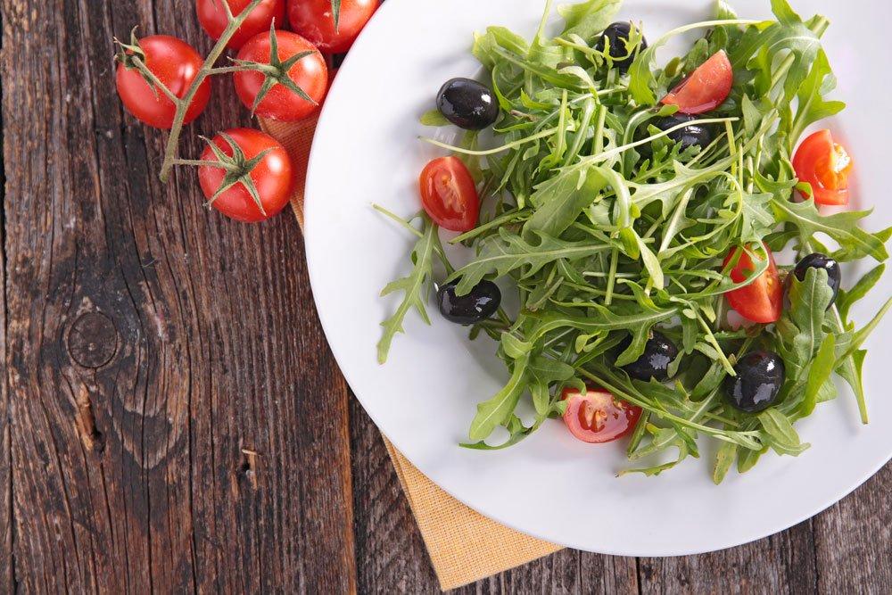 Tomatensalat - lauwarm