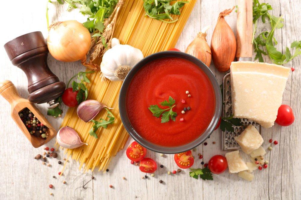 Tomaten Käse Soße