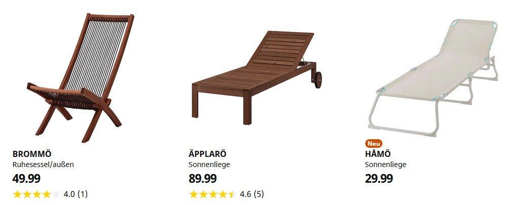 IKEA Liegestuhl