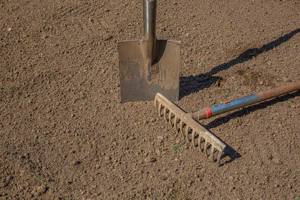 Zaun bauen Untergrund