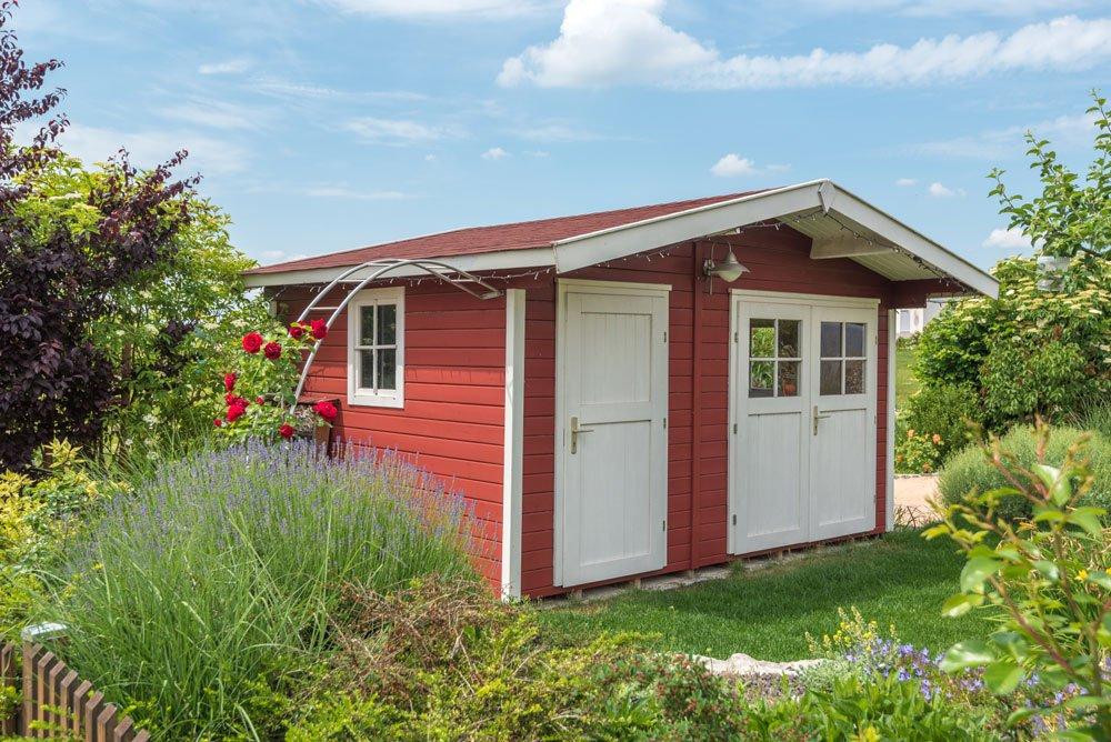 Gartenhaus Aufbewahrung