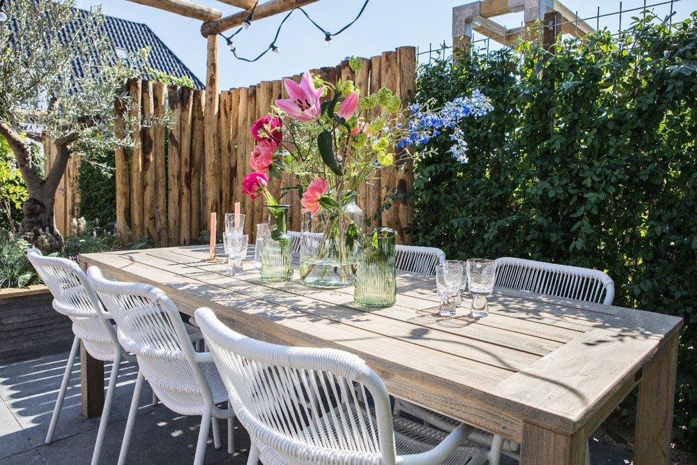 Gemütliche Gartenmöbel