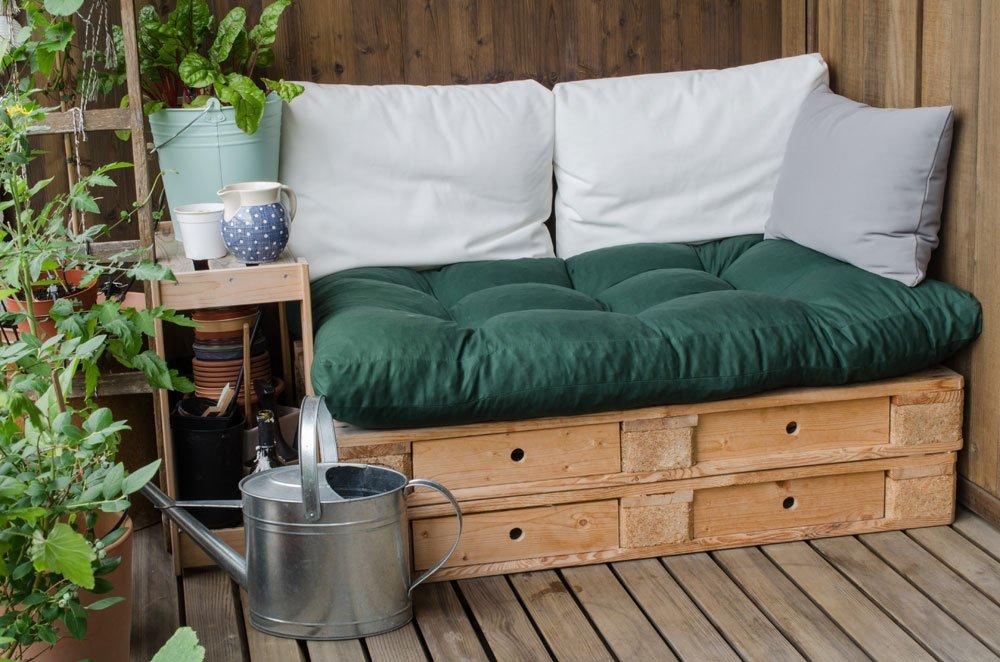 Sofa aus Europaletten