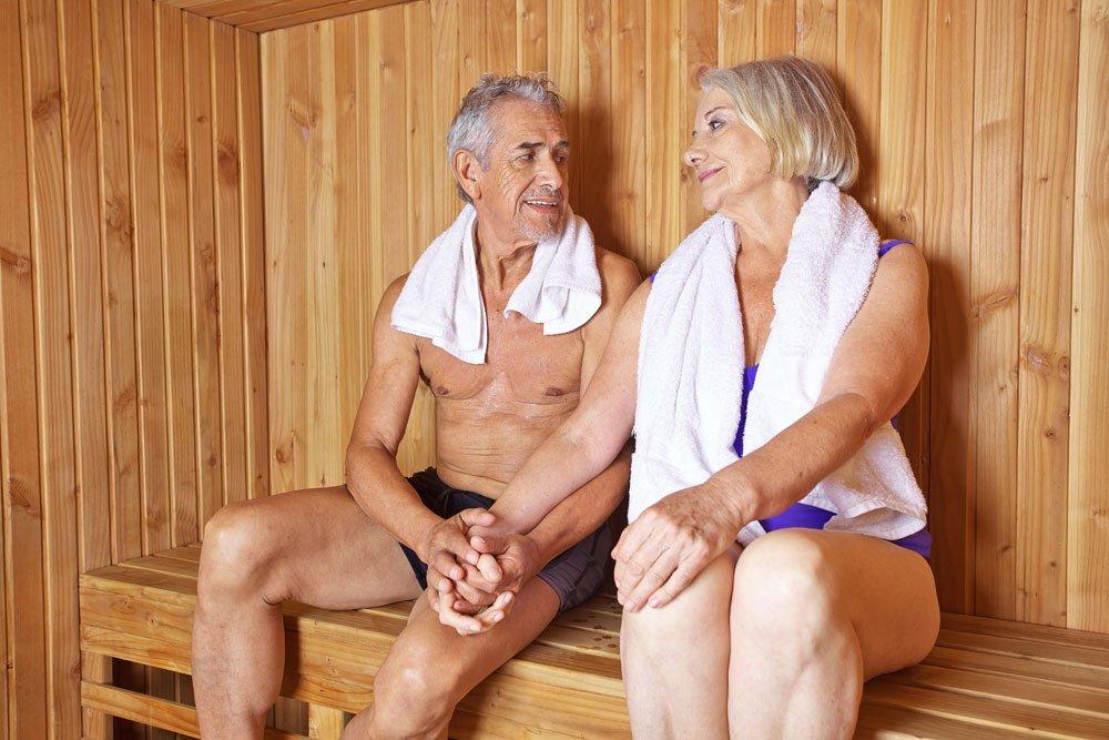 Sauna: Herzerkrankungen vermeiden