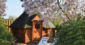 Vorteile der Sauna im Garten