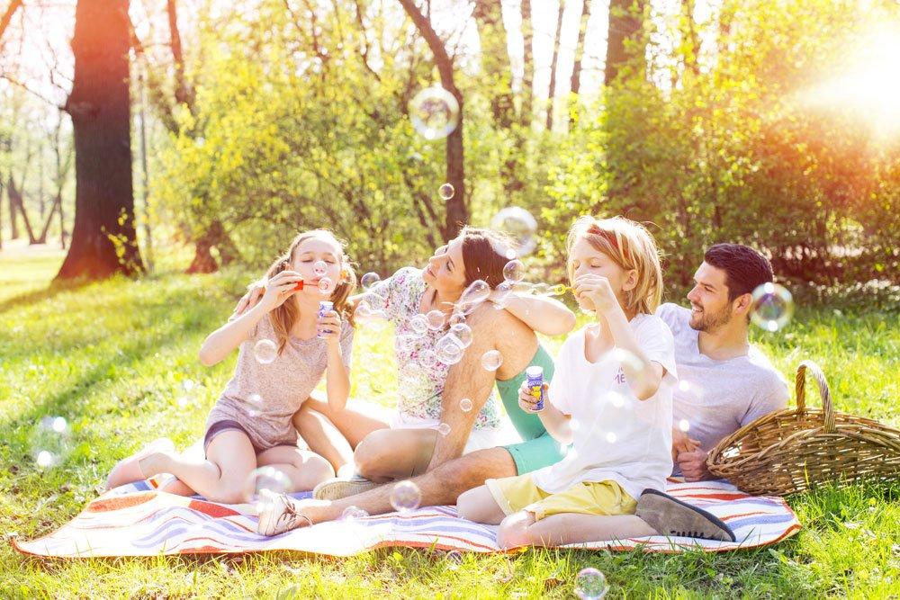Picknick Garten Spiele