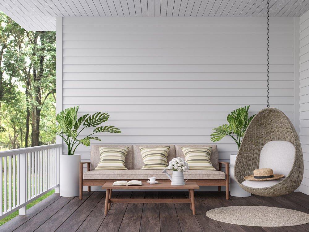 Garten gestalten Möbel