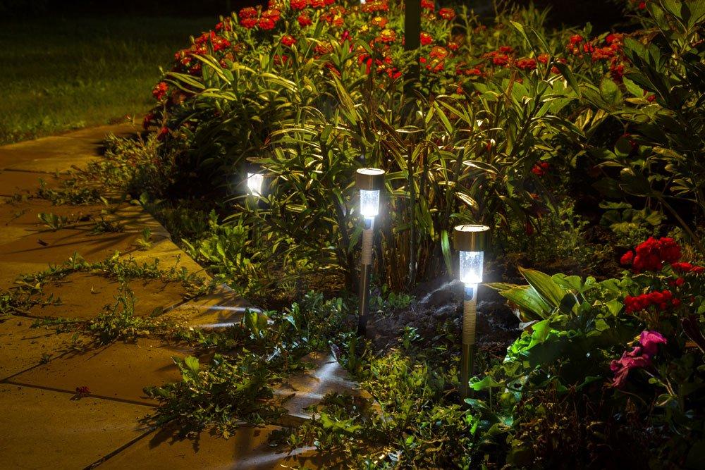 Garten gestalten Beleuchtung