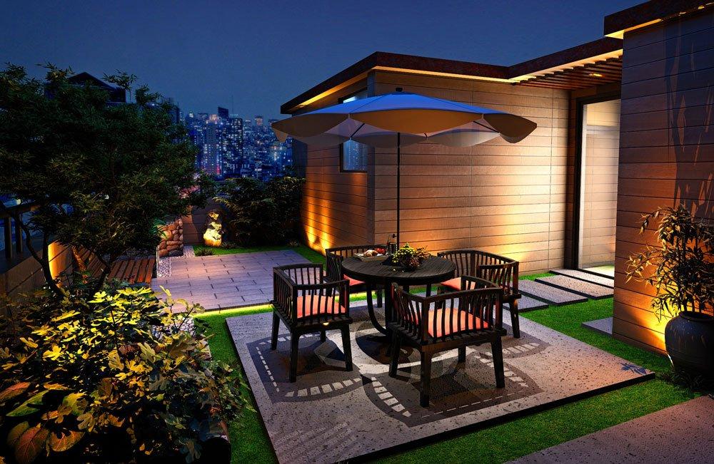 Stilvolles Gartenhaus