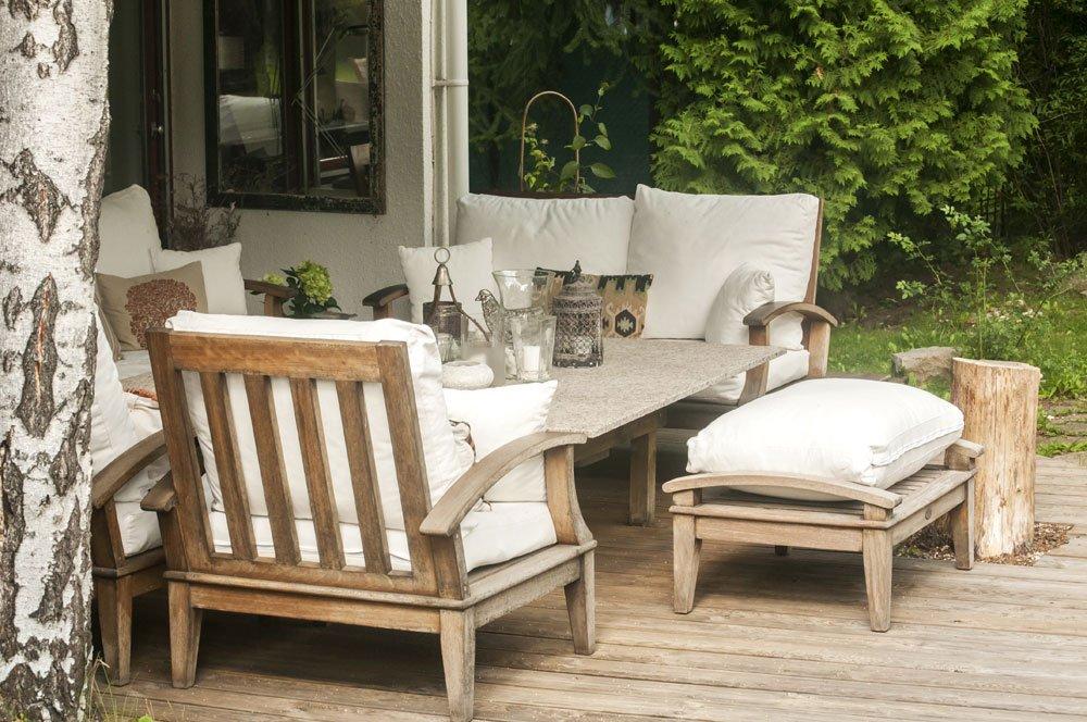Nachhaltige Gartenmöbel aus Holz