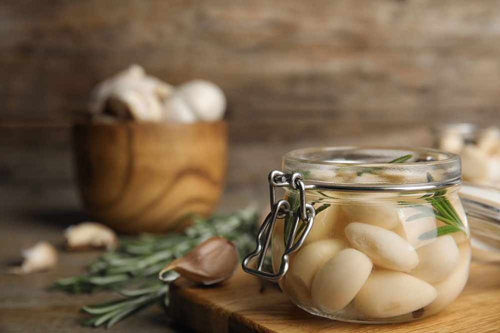 Knoblauch fermentieren