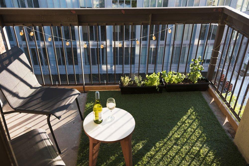 Balkonboden verschönern