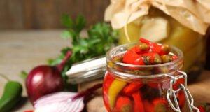 eingelegter Chili
