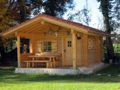 Blockhaus Gartenhaus