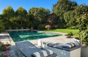 Luxus Garten gestalten