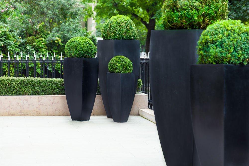 Luxus Garten Blumenkübel