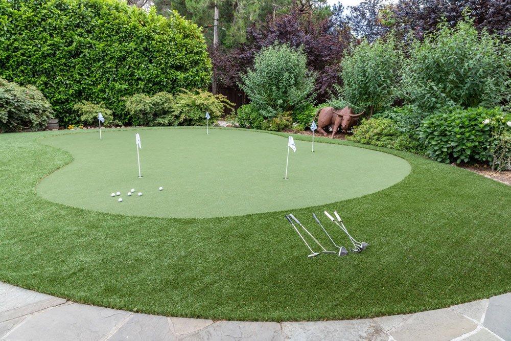Luxus Garten Golfanlage