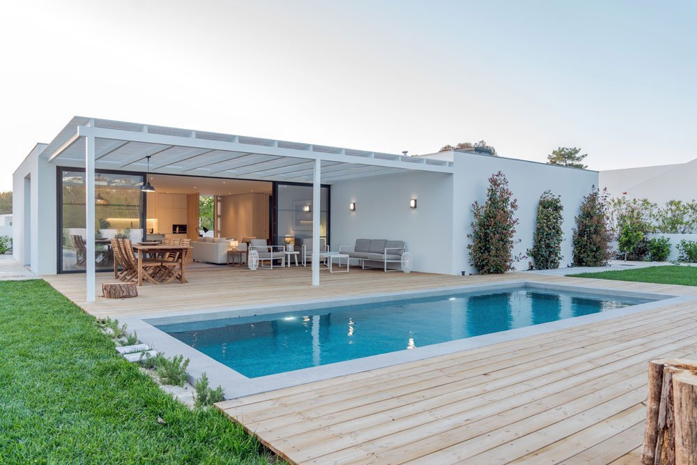 Luxus Garten Pool