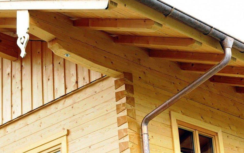 Vierkantholz Blockhaus