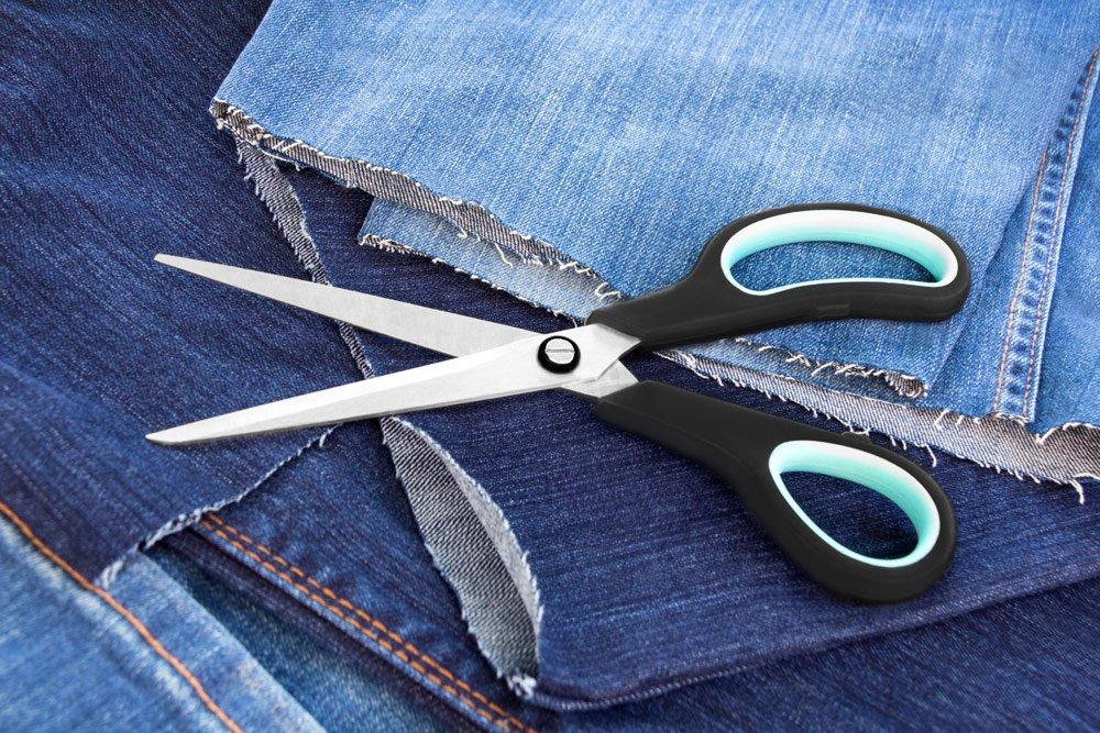 Pflanztaschen selber machen aus Jeans